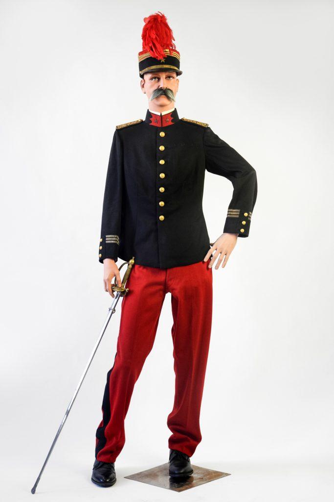 07 Grande tenue d'officier d'administration de 1ère classe des subsistances militaires – 1910