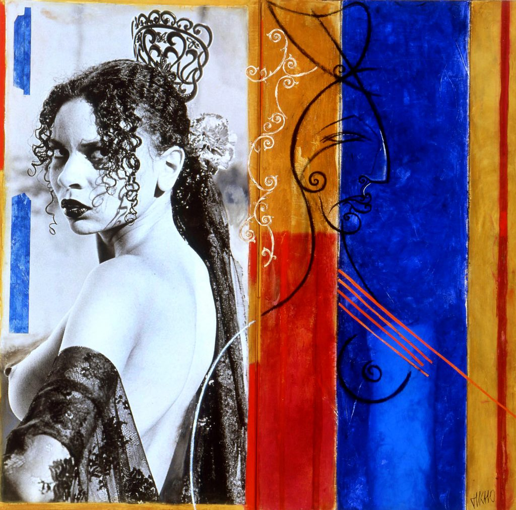 14 TM Flamenca 120x120 collection privée